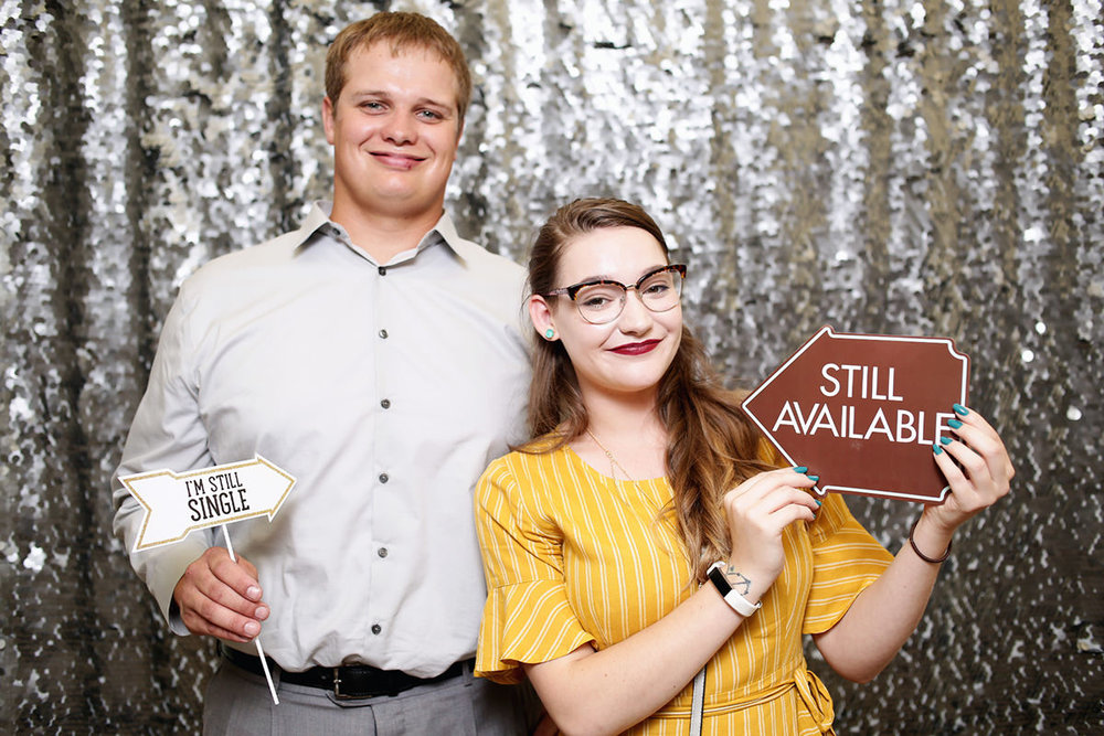 Photobooth photo booth rental wedding event instant unlimited print kiost white shell silver large sequin backdrop wedding cheyenne wyoming fort collins denver northern colorado liz osban photography3.jpg