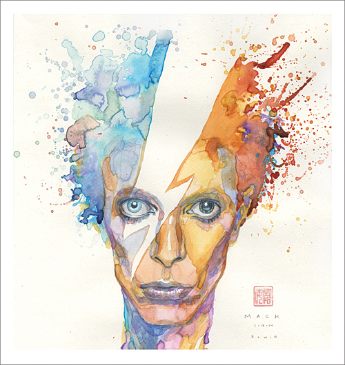 David Bowie by David Mack