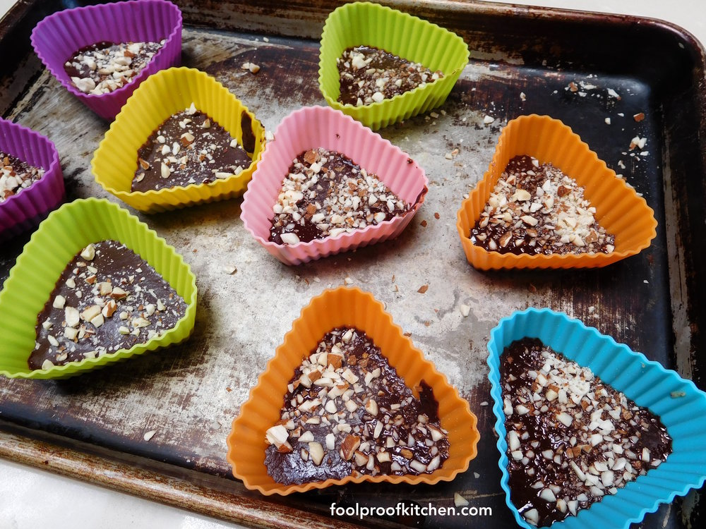 Nut Butter Triangles