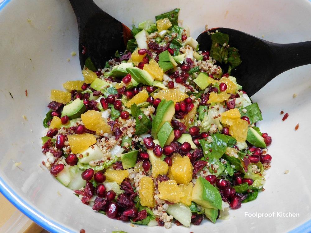 Organic Greens + Quinoa + Citrus