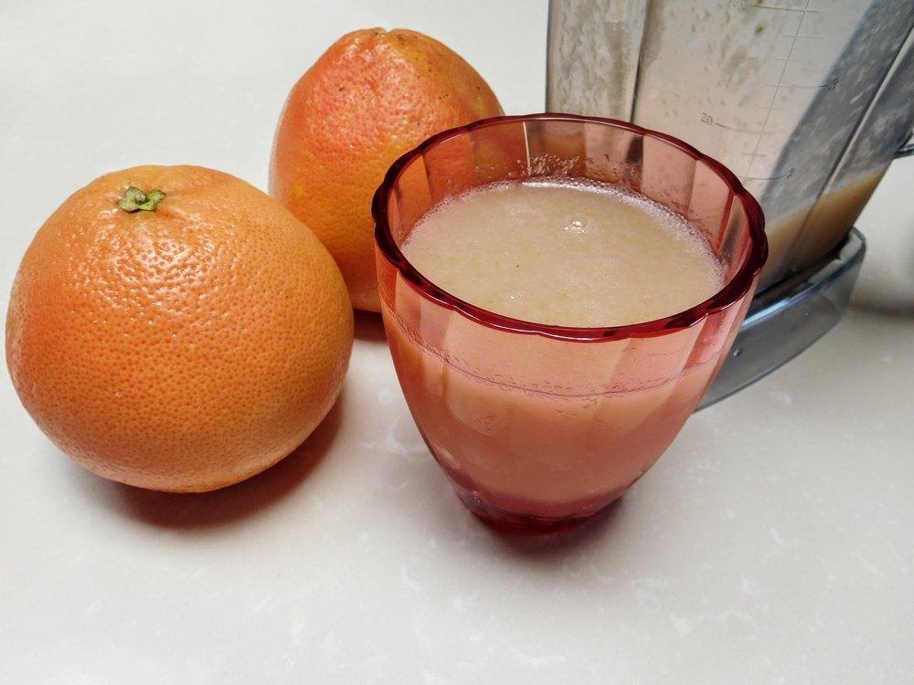 Grapefruit Fennel Smoothie