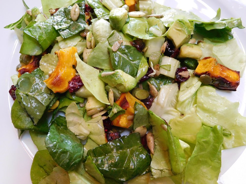 Squash + Butter Lettuce + Spinach