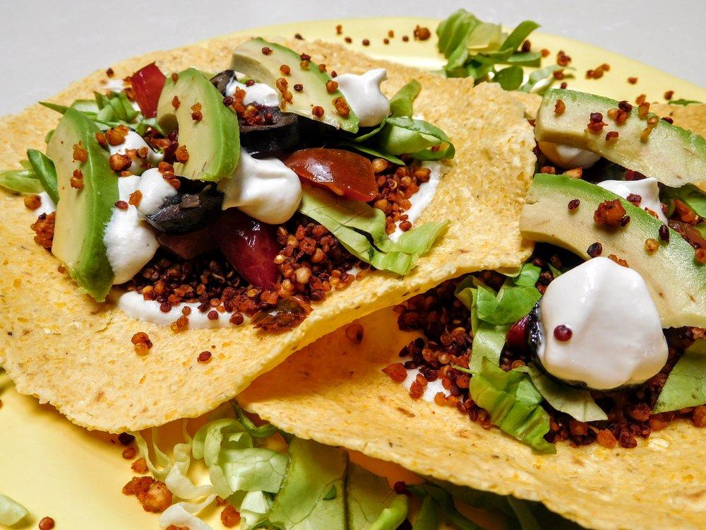 Quinoa Taco Filling
