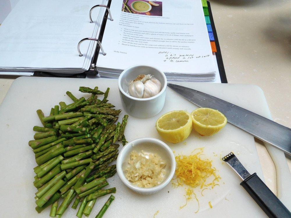 Asparagus Soup mise.jpg