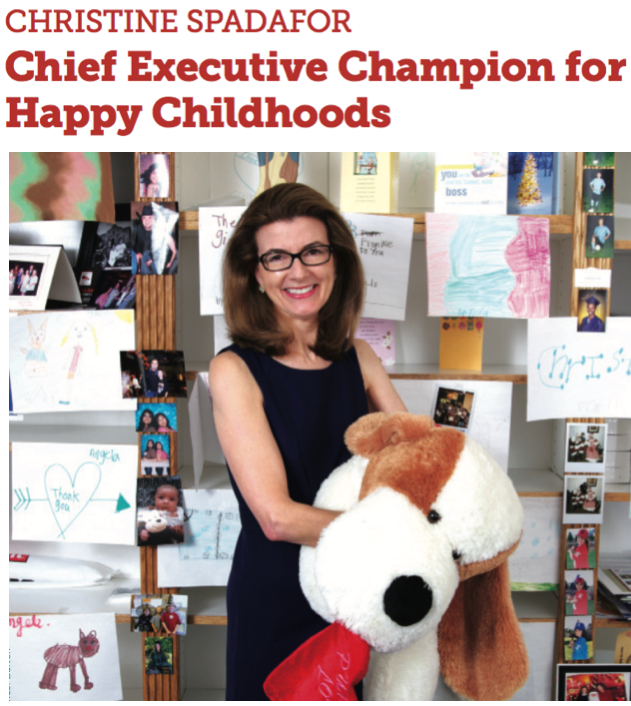 CEO Christine Spadafor was featured in this article about the turnaround at St. Jude's Ranch for Children.