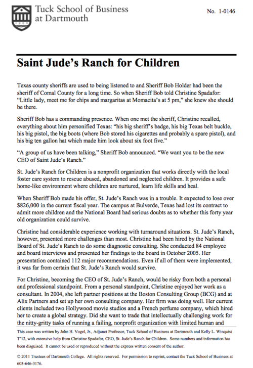 St. Jude\'s Ranch — Christine Spadafor
