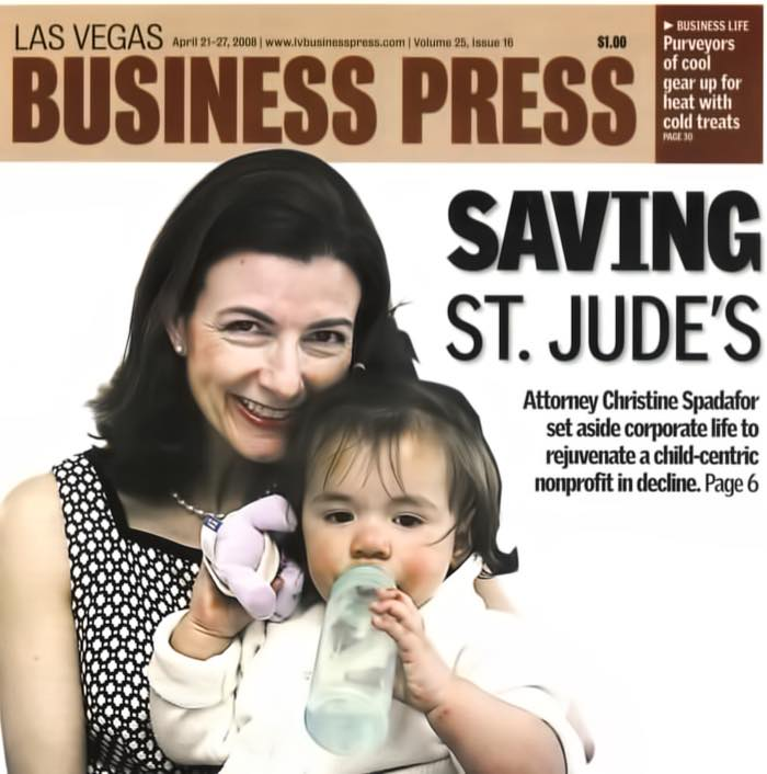 St. Judes Ranch for Children CEO Christine Spadafor - LV Business Press Article