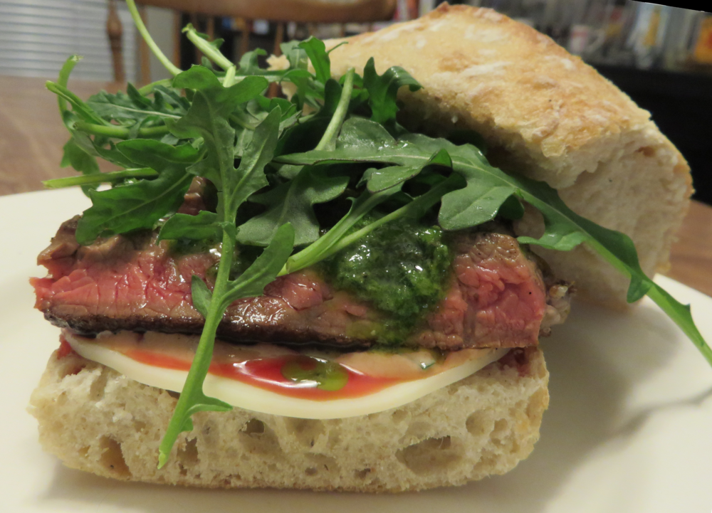 The Steak Sandwich Itself