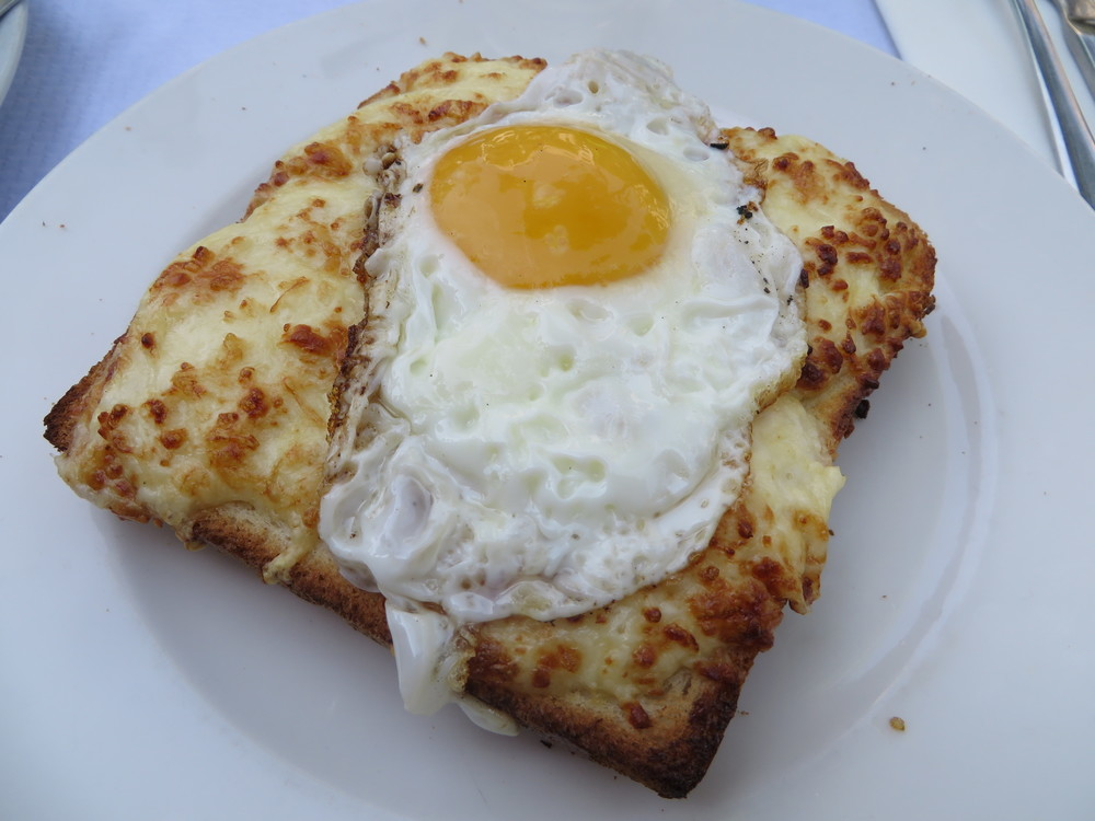 A croque-madame that I devoured from some random-yet-charming cafe in Paris.