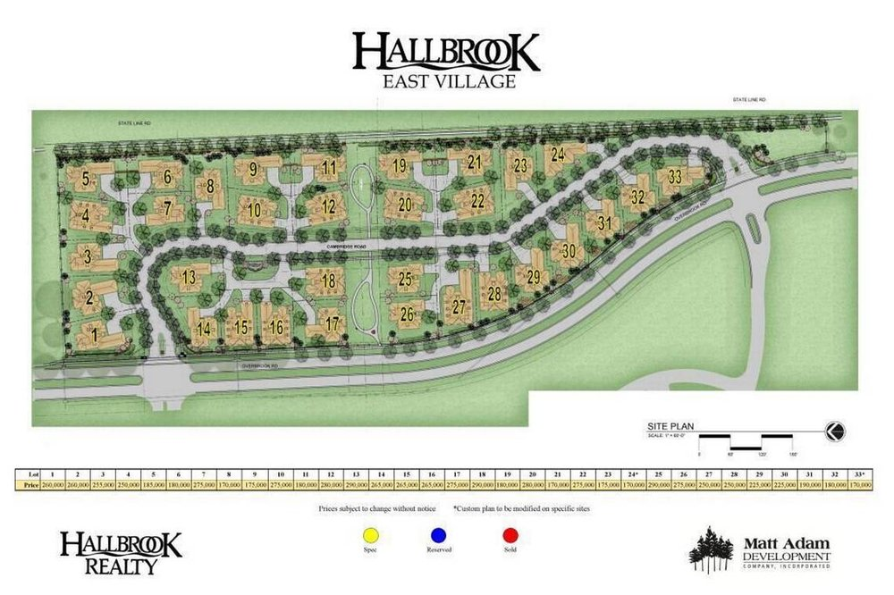 """East Village"" Hallbrook Farms"