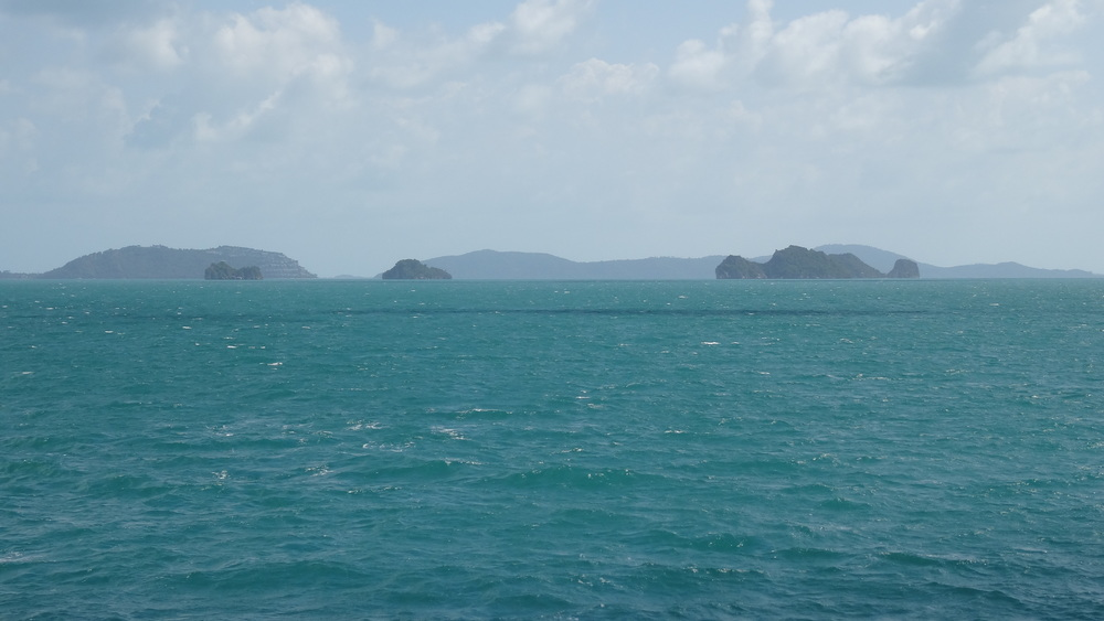 The terquious waters of Koh Samui.
