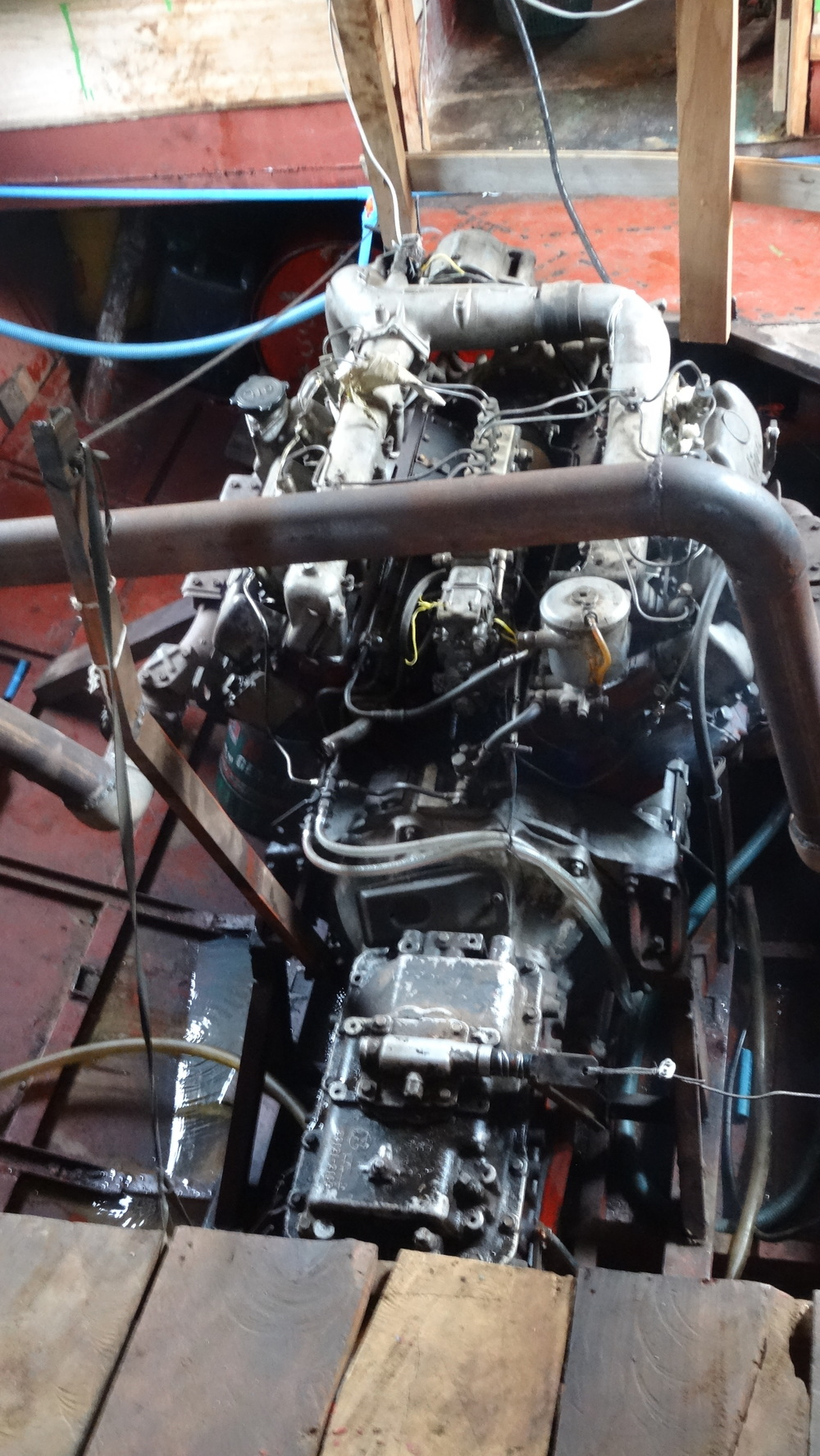 Slow Boat Engine