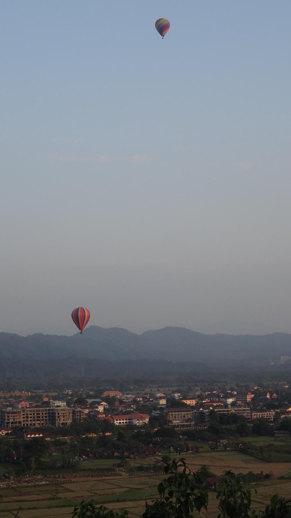 Vang Vieng, Laos - View point.