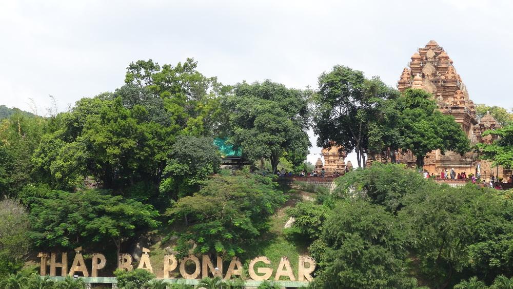 Po Nagar hindu temple.