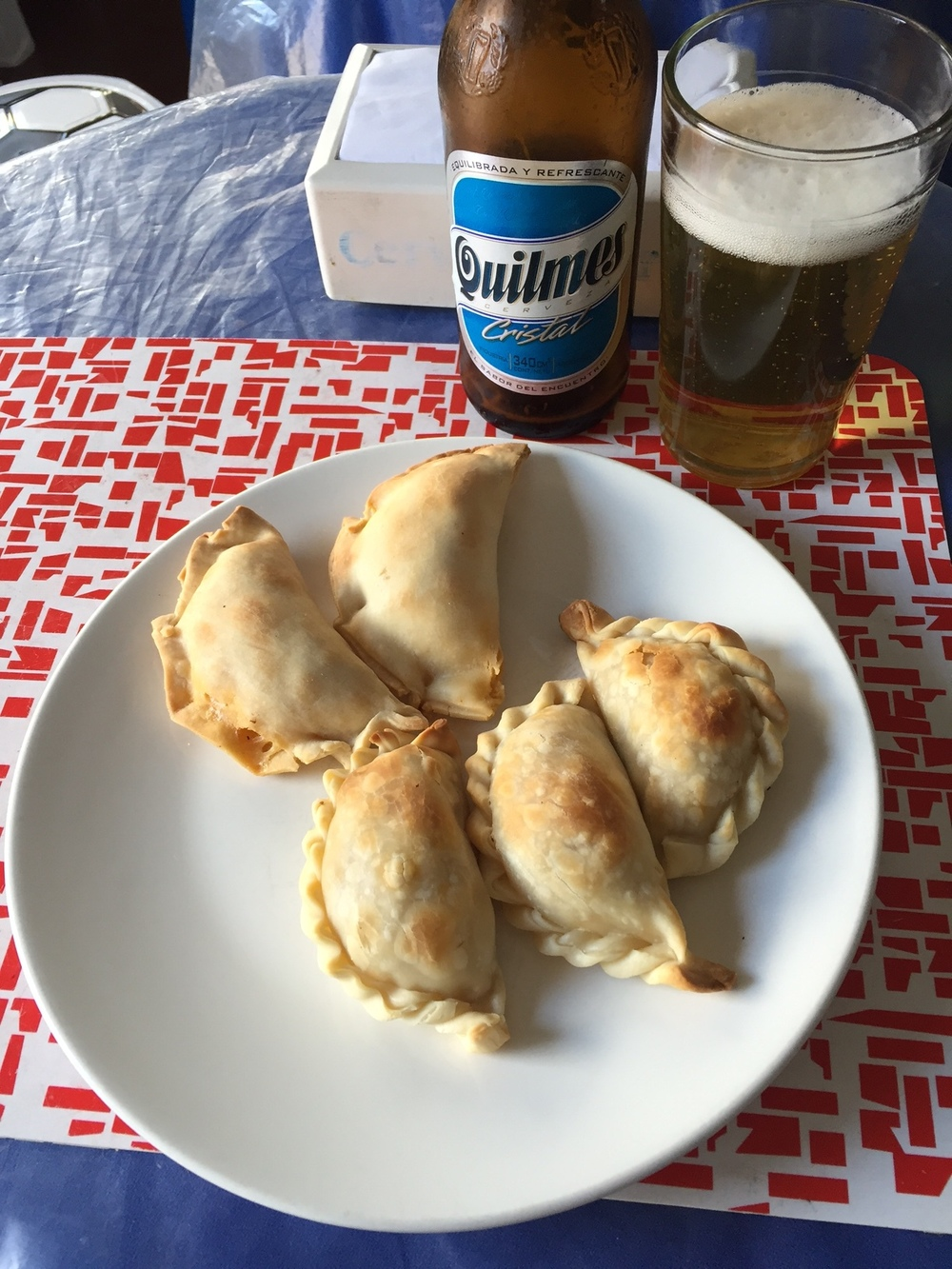 Empanadas. A cheap, goto meal for locals and travelers alike.