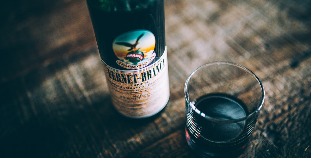 Another import from Italy, Fernet-Branca maybe the most popular alcoholic drink in BA. Picture credit: lifeandthyme.com