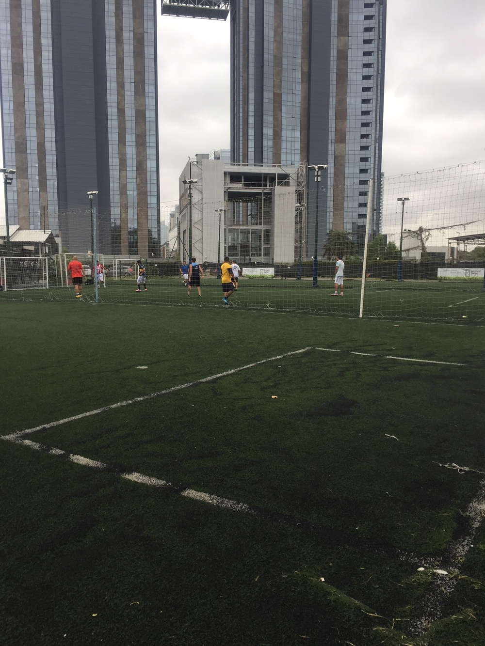 Want a fútbol game? You can find it weeknights after work or weekends every where.