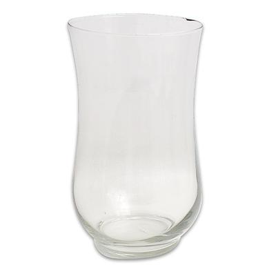 Hurricane Vase 10.5 X 6.- $6