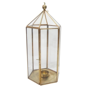SILVER Vintage Rustic Lanterns 14 x 9 - $15