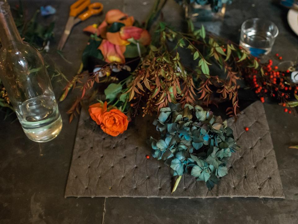divyapande.com   © divya pande 2015   Uncork Floral Event - Tiny's No. 5