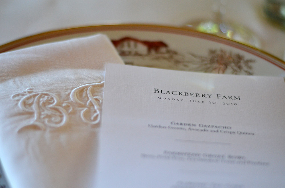 Uncork at Blackberry Farm