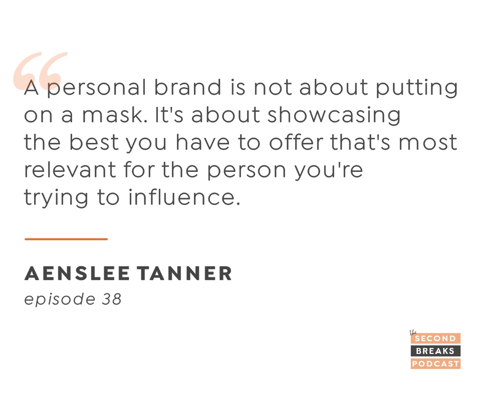 Your personal brand = influence