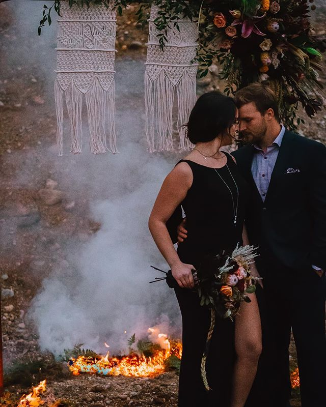 🚨Pardon the Language🚨· · · Shit was on FIRE! Like literal FIRE! 🔥🔥These two!😍😍 More to come from the #weddinggang · · @gabrielladuque_ @tbauche 😍 📸 - the legend @partyprofessionalsplanning · · Photographer: @staceygabrielphotography  Dress: @museboutiquebdn  Decor: @partyprofessionalsbrandon  Florals: @instabloombox  Videography: @tridentfilms  Hair/makeup: @partyprofessionalsplanning  Corvette - @get_resurrected