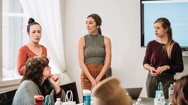 Yesterday we got to film an amazing workshop, hosted by these 3 beautiful and talented women! @designonhermind @jes.sparks & @johhhanna ⠀⠀⠀⠀⠀⠀⠀⠀⠀⠀⠀⠀ The knowledge these guys have on the instagram platform, was absolutely mind blowing! ⠀⠀⠀⠀⠀⠀⠀⠀⠀⠀⠀⠀ They talked about everything! The nuances of each post, each caption, theme, colour palette, the behaviour of a customer when they look up your instagram profile and why posting curated content that provides value is important etcetera etcetera etcetera. ⠀⠀⠀⠀⠀⠀⠀⠀⠀⠀⠀⠀ 3 hours could have easily been an entire day and there still would have been a lot more to talk about! We are sure all of the attendees walked away with tons of insta nuggets!  Thank you guys for sharing your knowledge and for having # @tridentfilms be part of it! ⠀⠀⠀⠀⠀⠀⠀⠀⠀⠀⠀⠀ Shoutout to @studio78photo for the beautiful space! :)