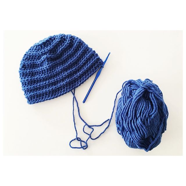#CancerSucks!!!! These are the hats I hate to have to make, but at the same time love that I can hopefully help someone feel just a little bit better while on their journey!! #blueisstrength #blueisfreedom #blueisnewbeginnings #youvegotthis #sheisafighter #treasuredbyholly