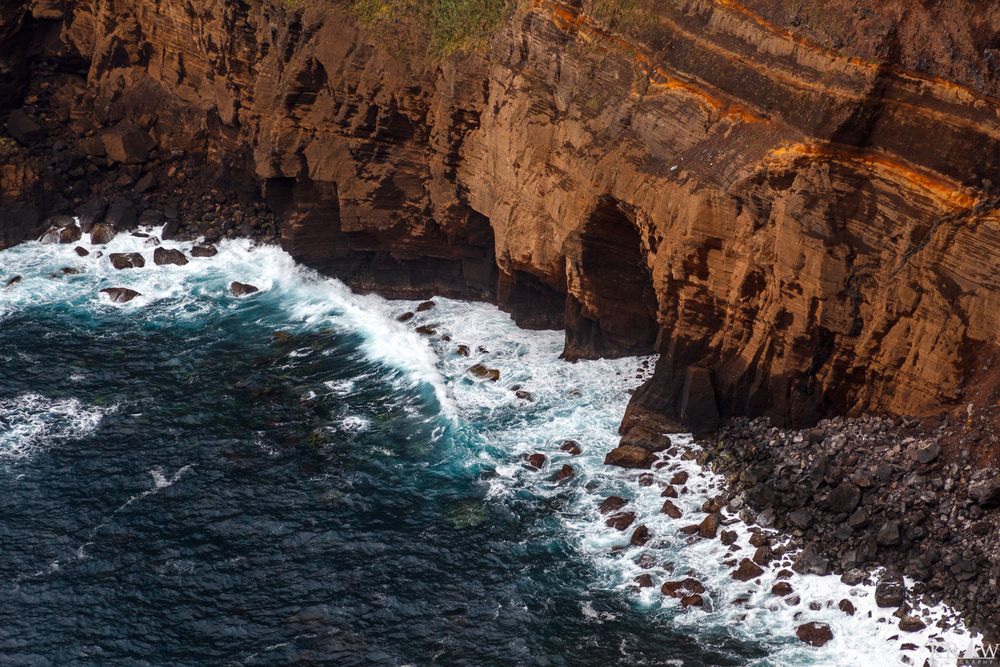 The Rocky Coastline of the Azores
