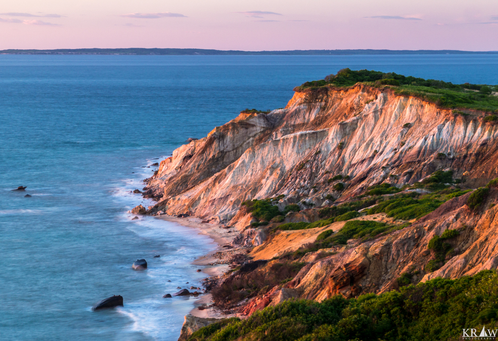 The Multi-colored Clay Cliffs of Aquinnah