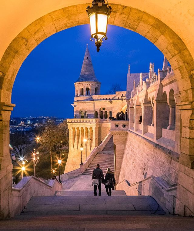A quiet night in Budapest ✨🇭🇺