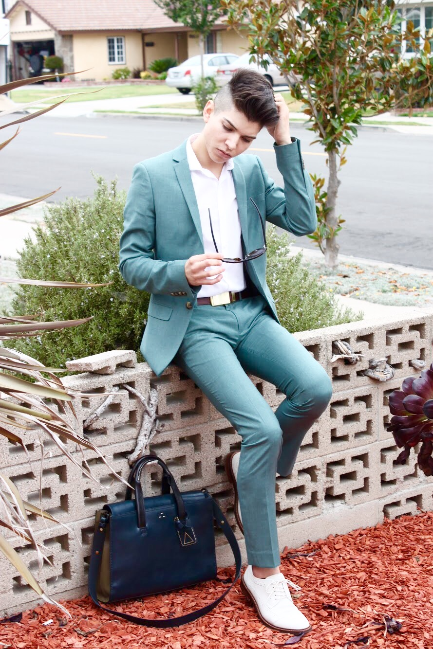 Green Topman Ultra Skinny Fit Suit — Top Mens Fashion Blog 2015 ...