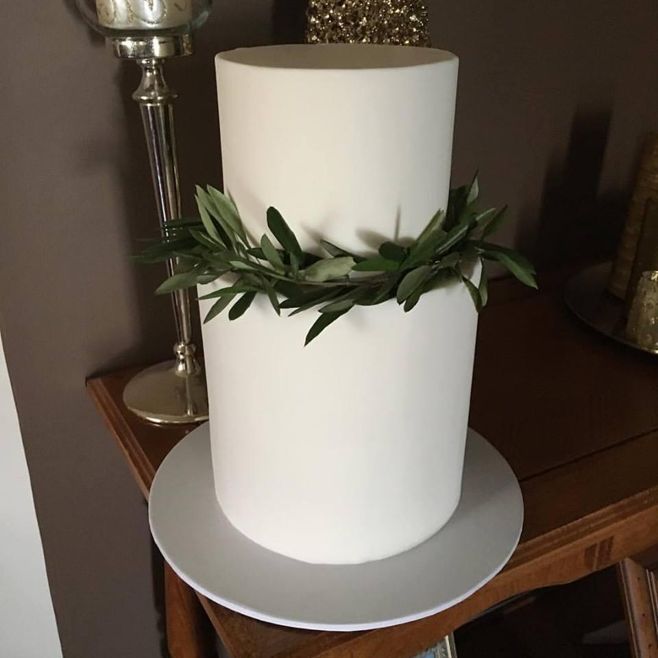 Copy of Leaf Wedding Cake