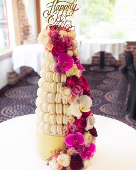 Copy of Macaron Wedding Cake