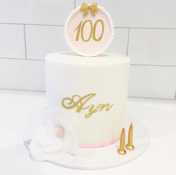 100 Day Cake