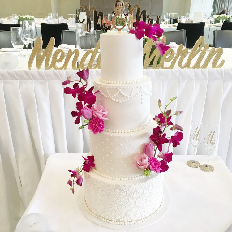 Copy of Classic White Wedding Cake