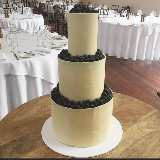 Copy of Blueberry Wedding Cake