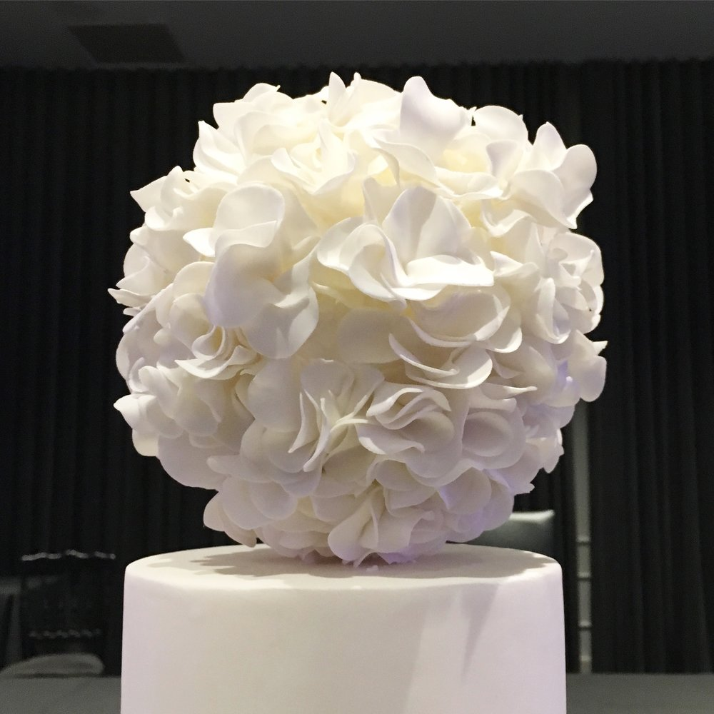 Ruffle Ball Topper