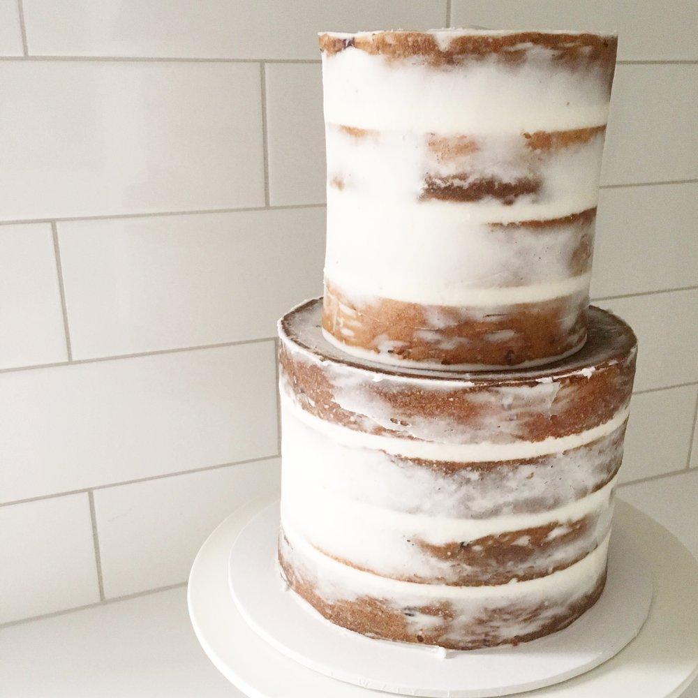 Plain Naked Cake