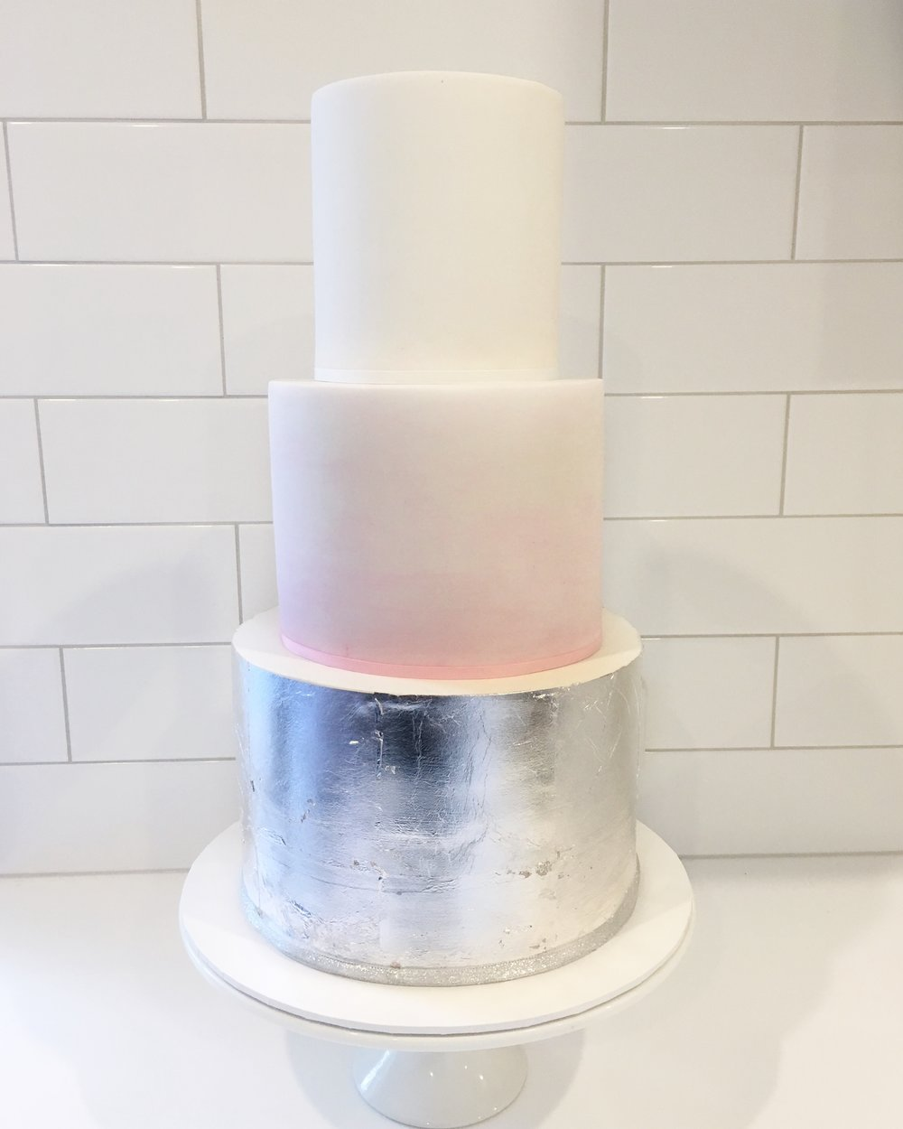 Pink Watercolour Cake