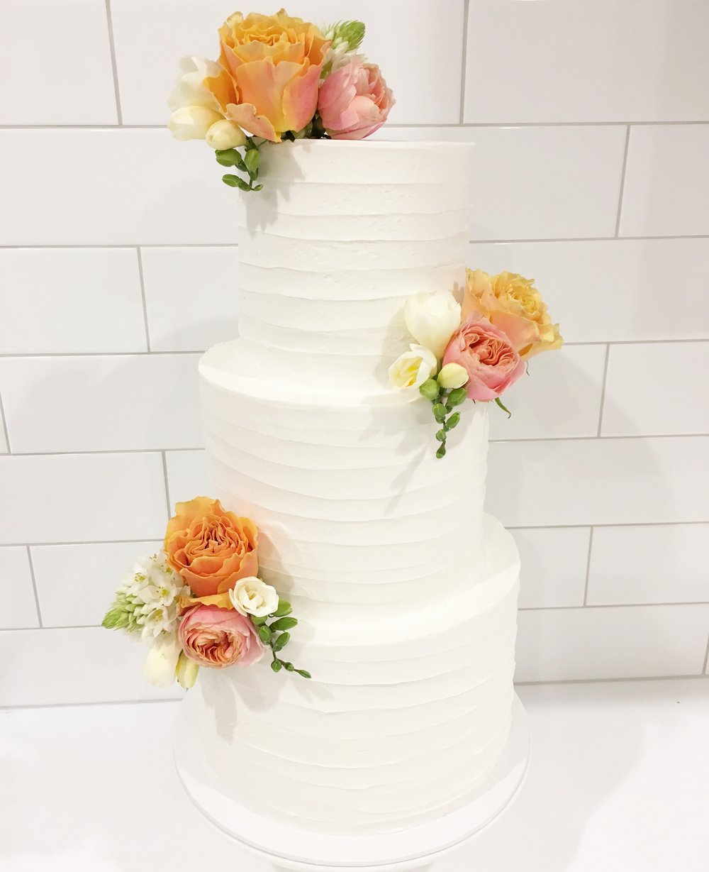 Copy of Buttercream Wedding Cake