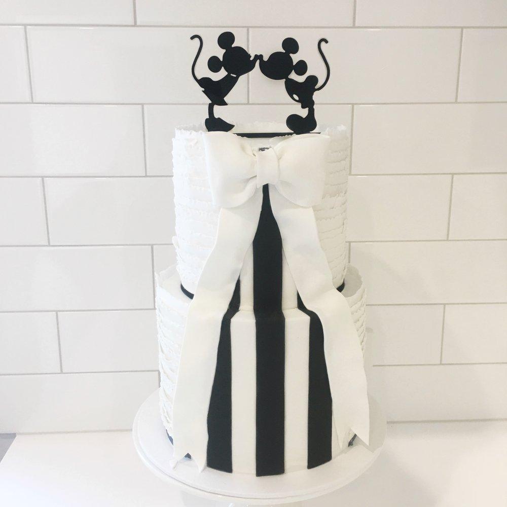 Collingwood Football Club Wedding Cake