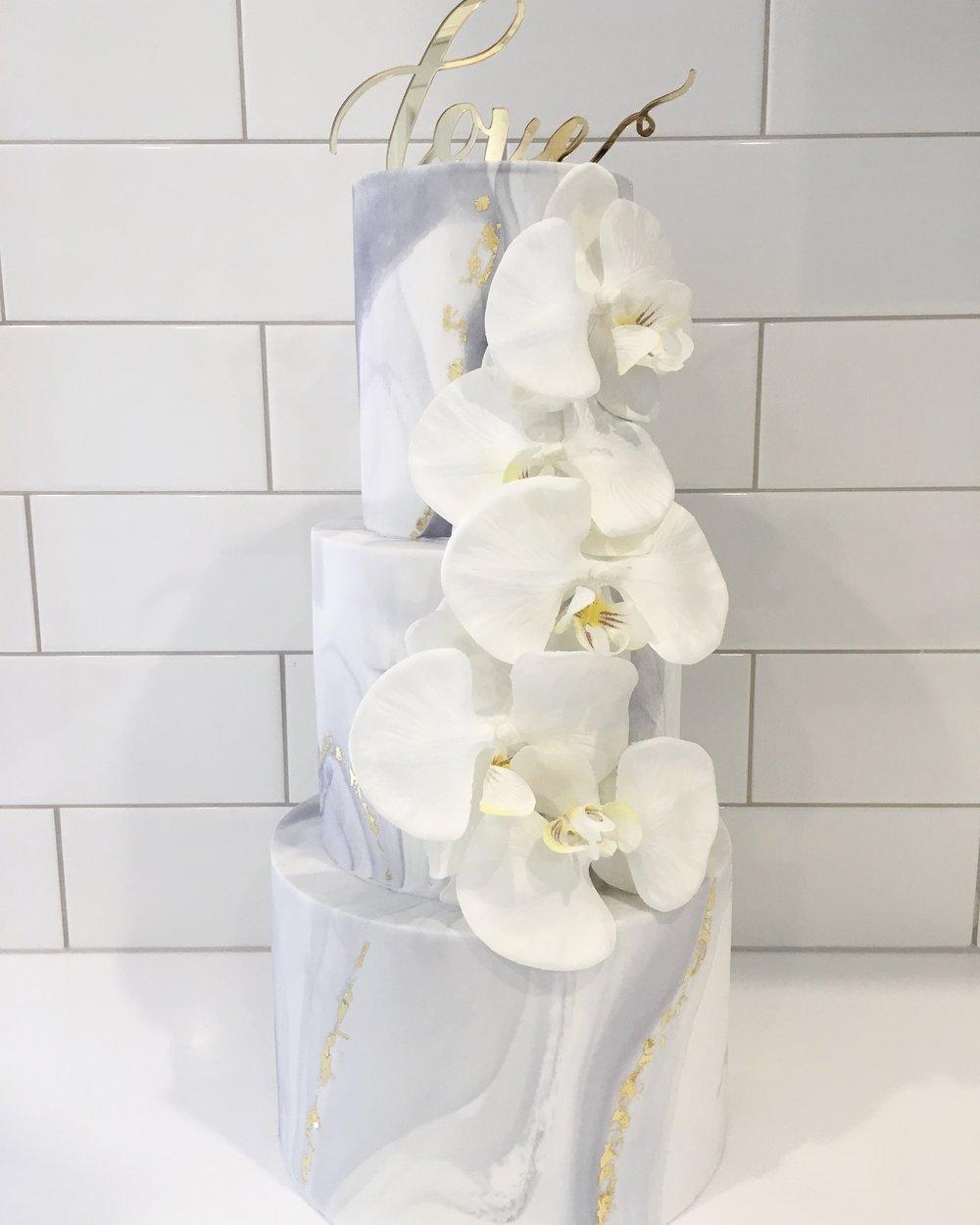 Copy of Marble Wedding Cake
