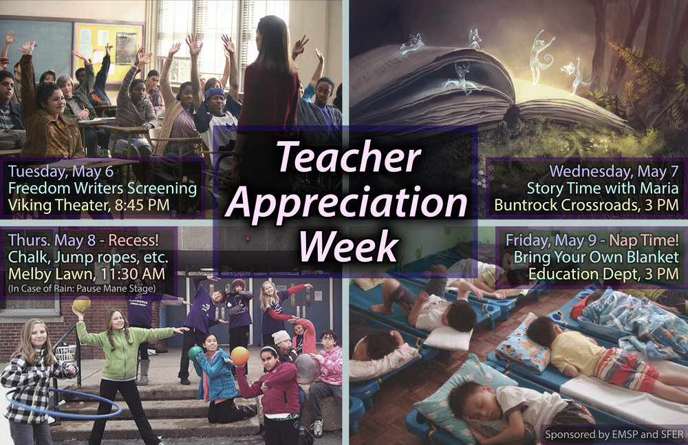Teacher Appreciation Week, May 2014