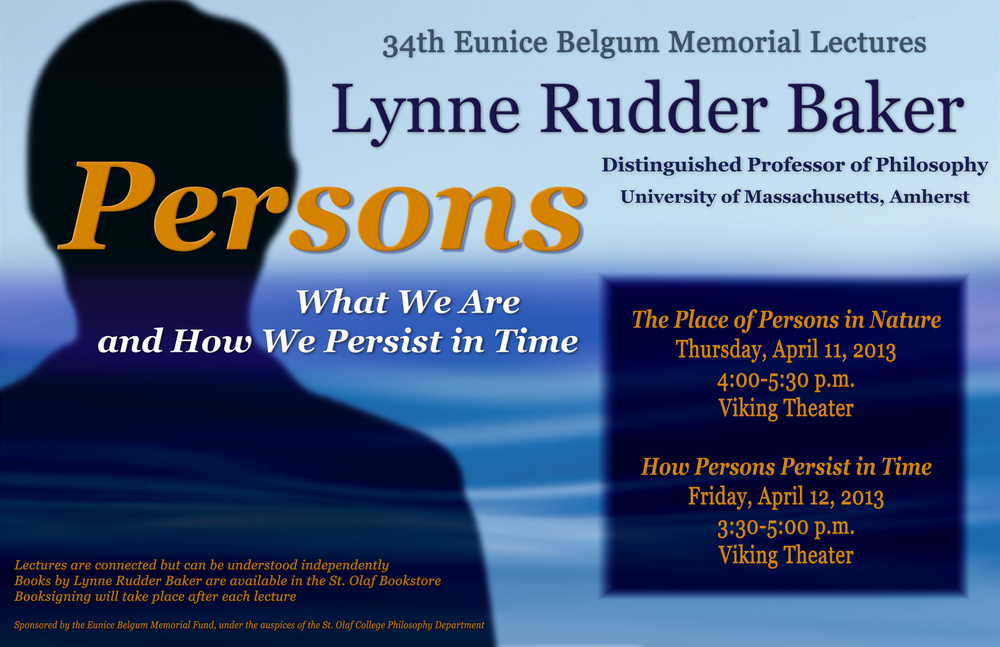 Belgum Memorial Lectures, March 2013