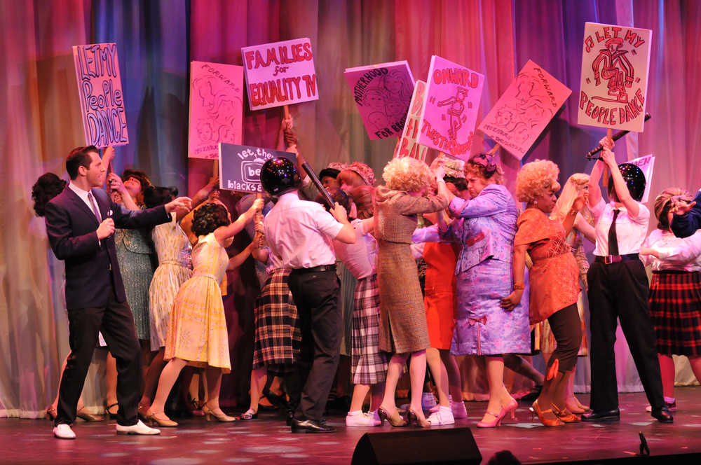 "Lomenda as ""Corny Collins"" in Hairspray"