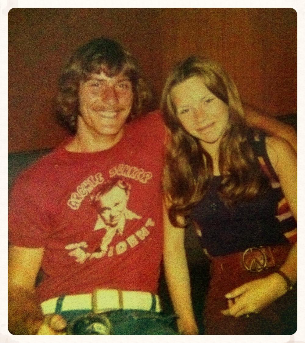 Dad and Mom circa 1972