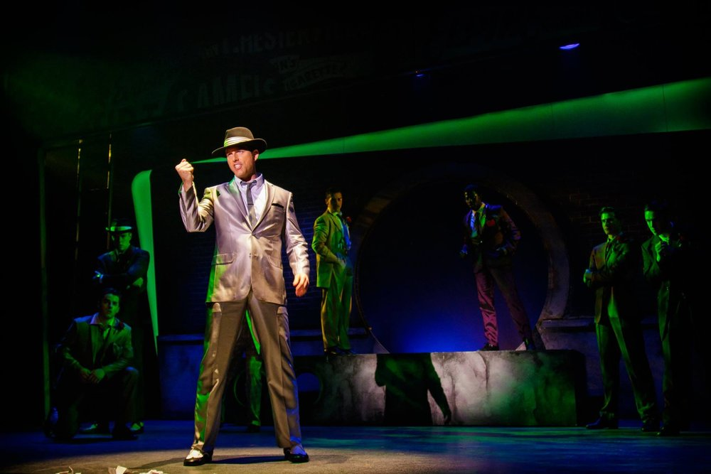 "Lomenda as ""Sky"" in Guys and Dolls"