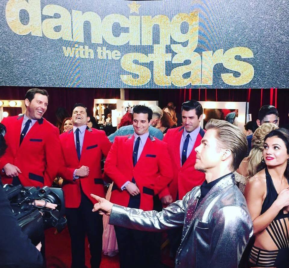 Jersey Boys on Dancing with the Stars